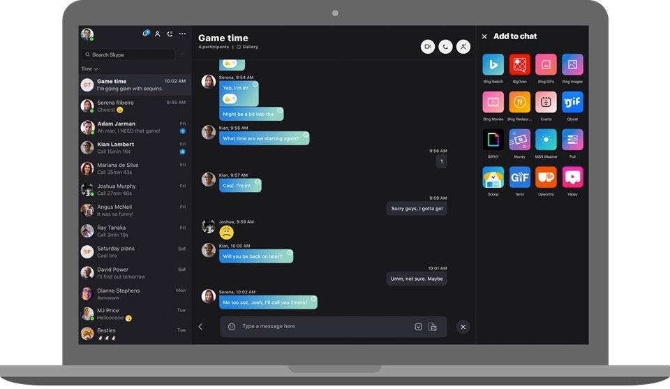 Skype lanza hoy una app rediseñada, multidispositivo entre iOS y macOS.